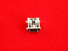 Разъем Mini USB 5pin (SMD)