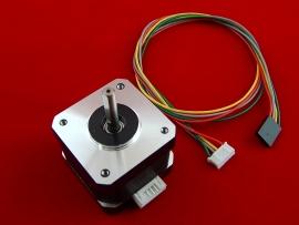 Шаговый двигатель 17HD3404-23D 12В-24В, 1.3А, 0.26N.m