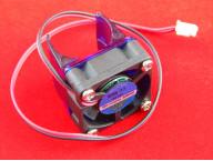 Вентилятор для экструдера 30мм, 12В + Крепление на экструдер