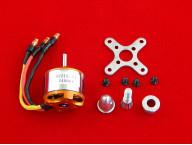 A2212 2450KV Бесколлекторный двигатель