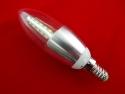 LED Лампочка, 5Вт свеча (Светодиодная)