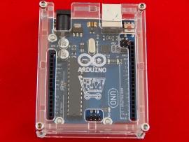 Корпус для Arduino Uno с логотипом
