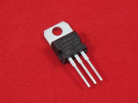 Стабилизатор напряжения L7809 (+9в,1.5А) TO220