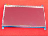 "7"" HDMI сенсорный LCD дисплей на Raspberry Pi Pi3"