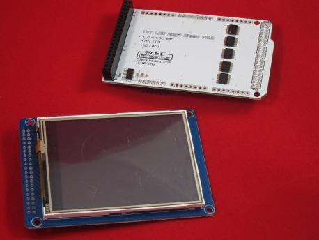 """3,2"""" TFT-LCD сенсорный экран на SSD1289 + Shield Mega"""