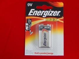 Элемент питания 6LR61 9V Energizer MAX Alkaline