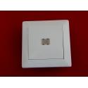 Выключатель С1 10-813 одноклавишный со световой индикацией скрытой установки