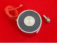 Электромагнит ELE-P40/25 (12 В, 30 кг, 8 Вт)