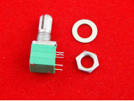 RV097NS B103, 10 кОм, Резистор переменный c выключателем