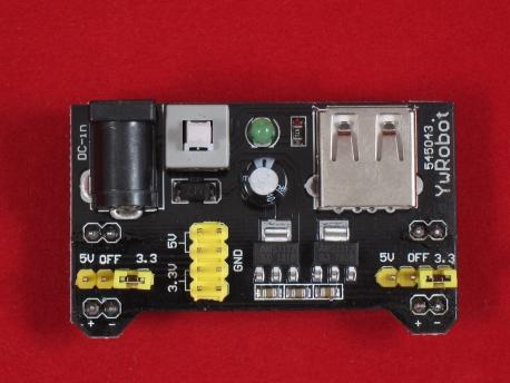 Модуль питания для макетных плат MB102 (3.3V/5V)