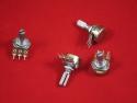 Резистор переменный (потенциометр) WH148-1A-2 (Вал: 20 мм)