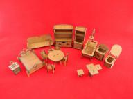 Комплект мебели в домик для кукол