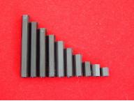 Стойка нейлоновая для печатных плат М3, 2 отверстия под винт