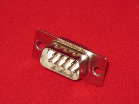 Разъем RS-232 9-ти пиновый (Папа)