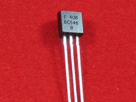Транзистор BC546 NPN 65В 100мА