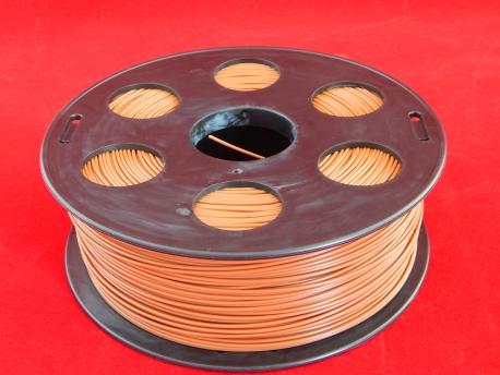 Пластик АБС/ABS 1,75мм Шоколад (1кг)