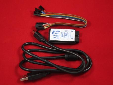 Логический анализатор Saleae Logic, 8 каналов, 24 МГц (Китай)
