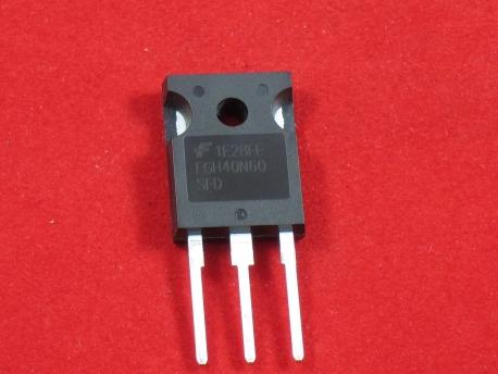 FGH40N60, IGBT 600В 80А