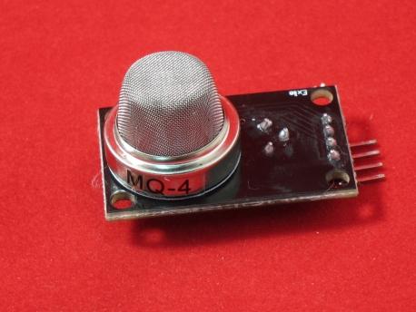 Датчик газа MQ-4 (метан, природный газ, дым)