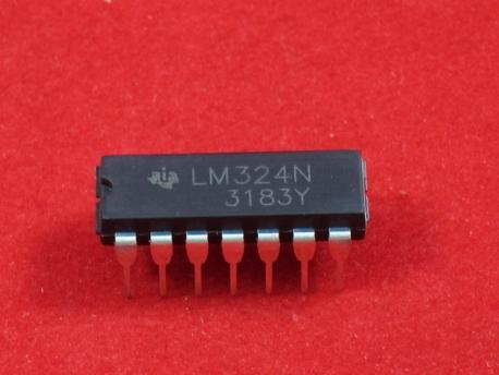 LM324N Счетверенный операционный усилитель