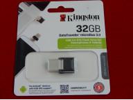 USB/OTG Флеш 32GB 3.0 Kingston, метал
